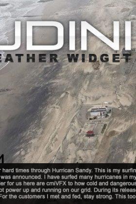 Houdini Python Weather Widget