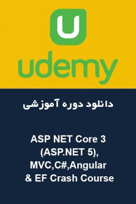 ASP NET Core 3 (ASP.NET 5),MVC,C#,Angular & EF Crash Course