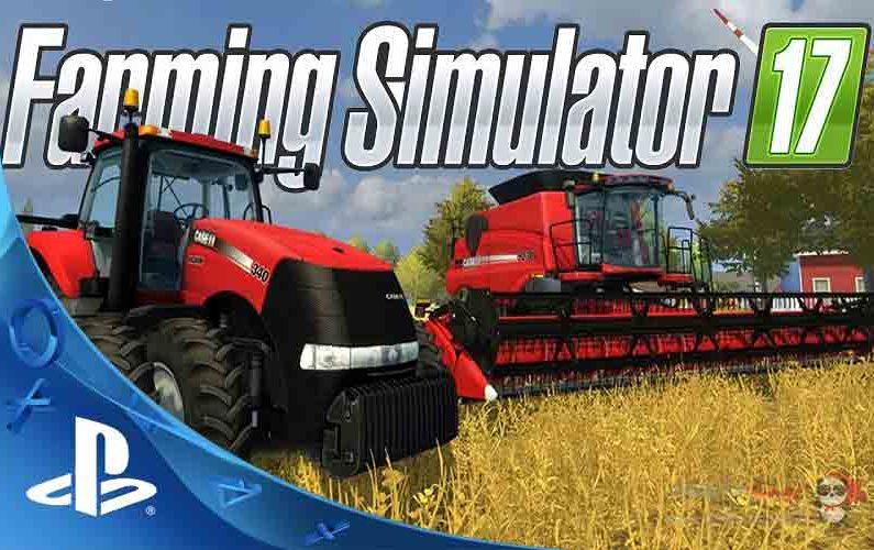 Farming Simulator 17 PS4-poster