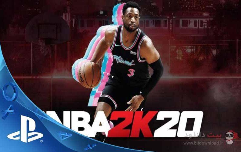 NBA 2k20 PS4-poster